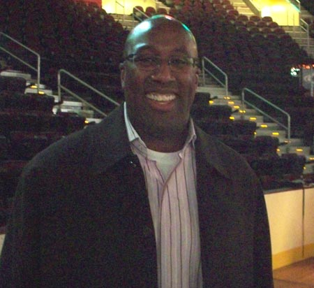Cleveland Cavalier Coach Mike Brown