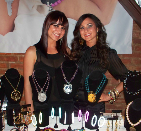 Dirty Pretty Things Jewelry designers Chrissy LoConti and Sarah Piscazzi