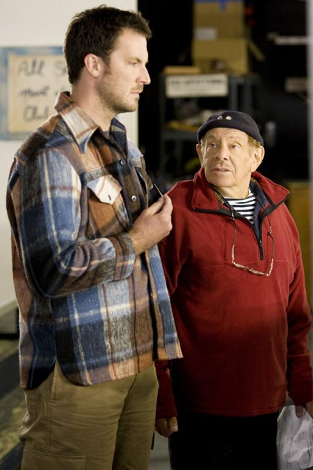 Brady Smith and Jerry Stiller in Ice Dreams on the Hallmark Channel