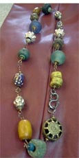 See Wearable Metal Art/Fine Silver jewelry from artist Debra A. Newell of Clear Sight of Night Designs