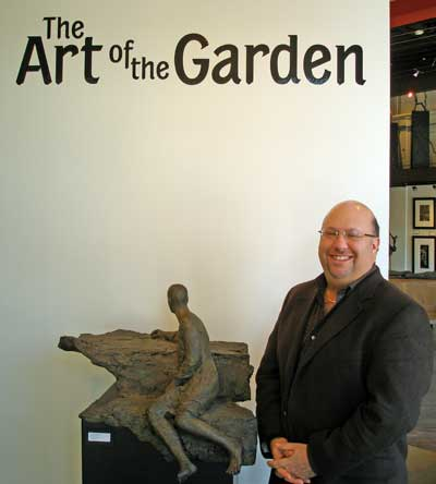Contessa Gallery owner Steve Hartman opens The Art of the Garden exhibit