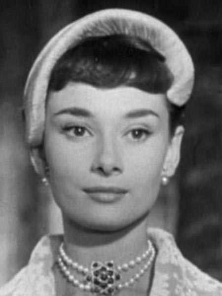 Audrey Hepburn from the trailer for the film Roman Holiday.