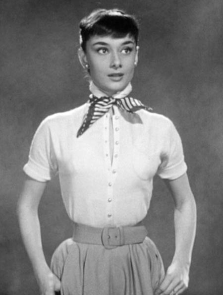 From Audrey Hepburn's Roman Holiday screentest