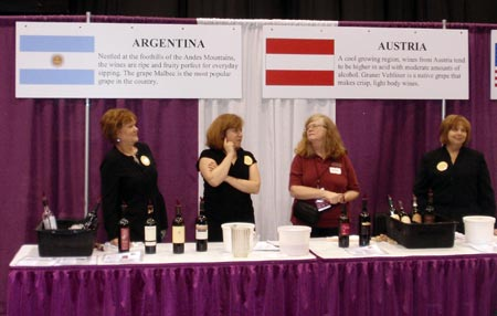 Wine from Austria and Argentina