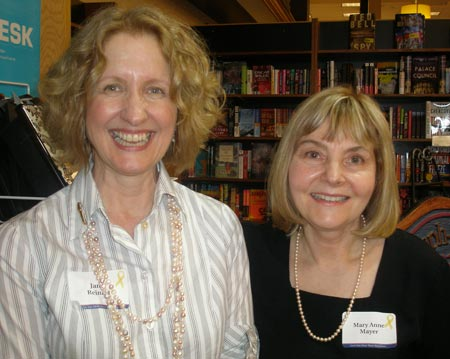 Janie Reinart and Mary Anne Mayer, authors of Love you more than you know