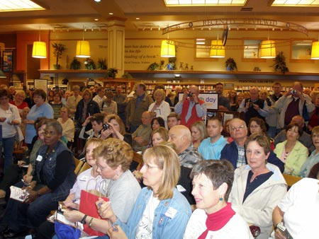Crowd at Joseph Beth for book signing