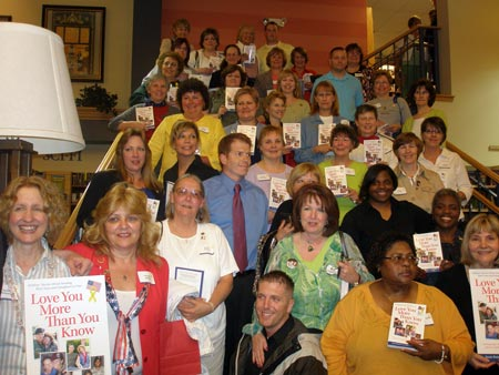 Military Moms and authors at Jpseph Beth book signing