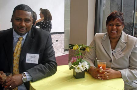 Tyronne Lofton and Autumn Woodley of Time Warner