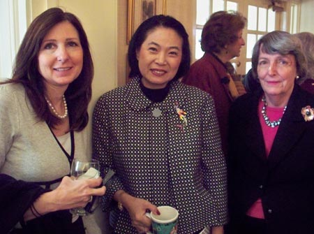 Linda Silver, Rose Wong and Terry Koval