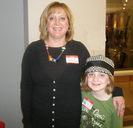 Jane Wagner and daughter, Erin (9)