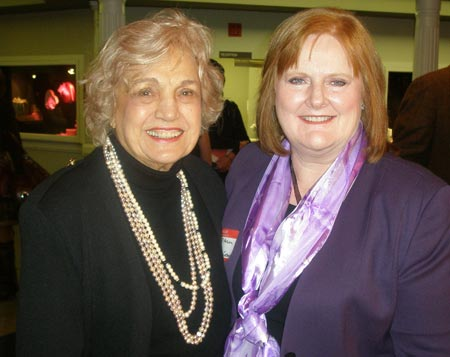 Virginia Marti Veith and Carol Mason