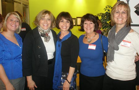Carrie Sciano, Betsy Stretar, Judy Boryczka,  Christine Lee and Susan Koehler