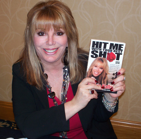 Jackie Kallem the First Lady of Boxing with her book