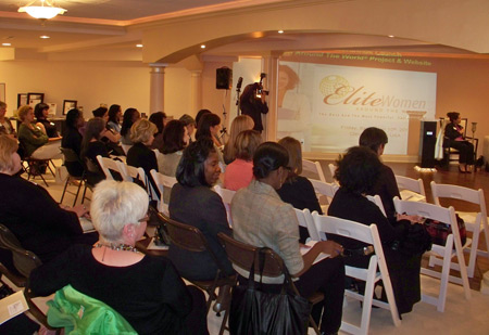 Elite Women around the World launch event