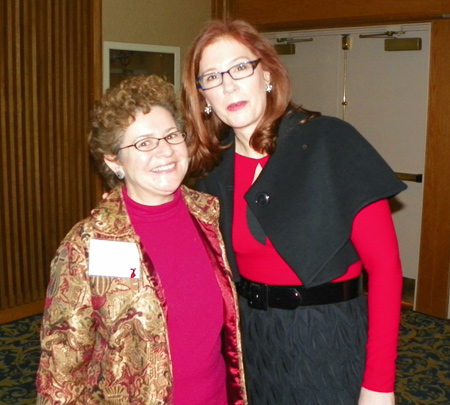 Catherine Fallick and Lee Ann Howard