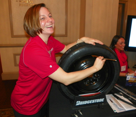 Michelle Barrett of Bridgestone