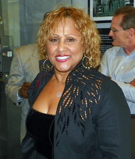 Rock and Roll Hall of Fame inductee Darlene Love