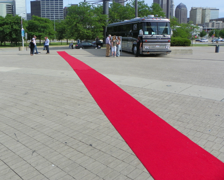 Red Carpet for Hot in Cleveland at Rock and Roll Hall of Fame and Museum