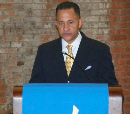 Douglas Bennett, Corporate Chair and Director of Community Relations & Outreach for Medical Mutual