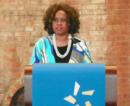 Sheryl King Benford, Board Chair  of The Diversity Center and General Counsel of RTA
