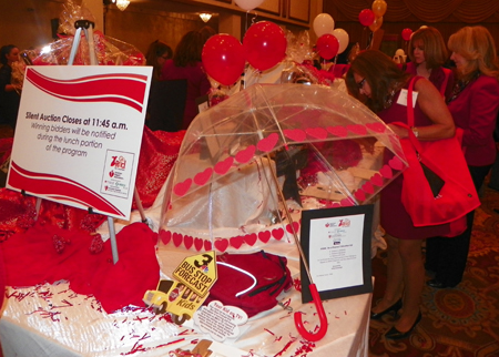 Go Red for Women auction