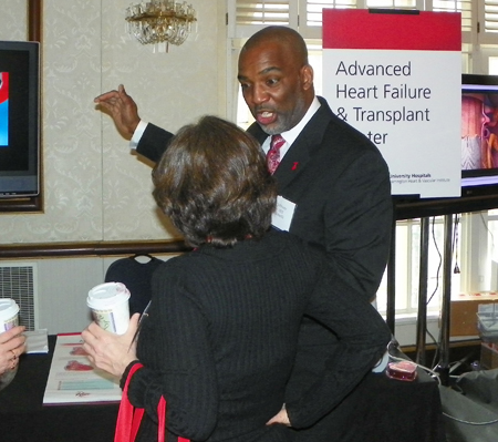 Jeff Foster from University Hospitals Advanced Heart Failure and Transplant Center