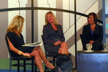 Stefani Schaefer, Tami Longanberger and Lieutenant Governor Mary Taylor