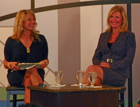 Stefani Schaefer and Tami Longanberger