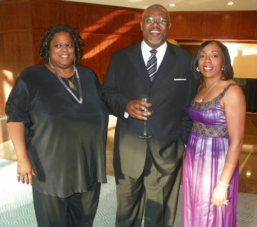 Bernadette Mayfield, Raland Hachett and Desiree Primm