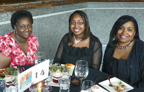 Verna Darby, Dajah Crawford and Cassandra Crawford - Parker