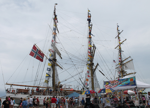 Norwegian Tall Ship at Port of Cleveland