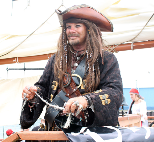 Is that Captain Jack Sparrow?
