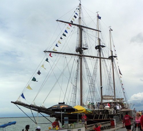 Tall Ship at Cleveland Festival