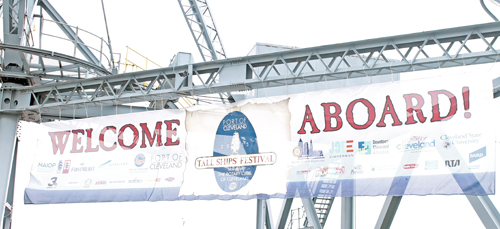 Tall Ship welcome at Port of Cleveland