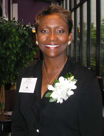 Athena Award Finalist Theresa Carter, President of Omnova Solutions Foundation
