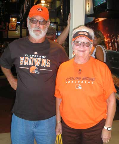 Cleveland Women at Cleveland Browns game