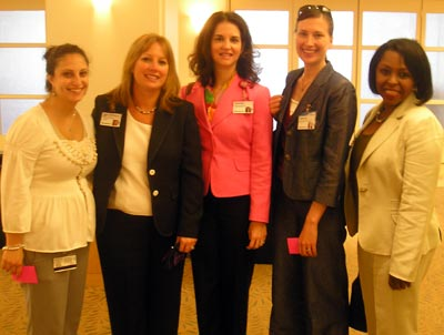Cleveland Clinic Women - Shirin Rastguofrd, Diane DeCamillo, Annette Nirodi, Michelle Botek and Eleanor Hayes