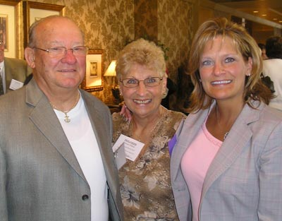 Diane L. Nowak with parents Andrew and Delores Fifick