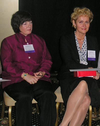 Women of Note Honorees Elizabeth Juliano and Daniela Mahoney
