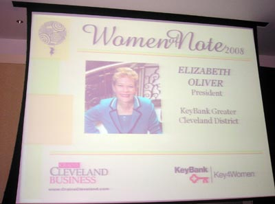 Elizabeth Oliver, President of KeyBank Greater Cleveland District