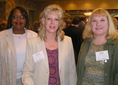 Mary Coles, Sandy Pogozelski and Barb Legan of Litigation Management, Inc.