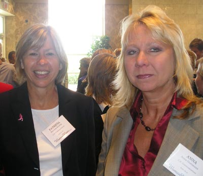 Patricia Kendig and Anna Gutman of US Communications