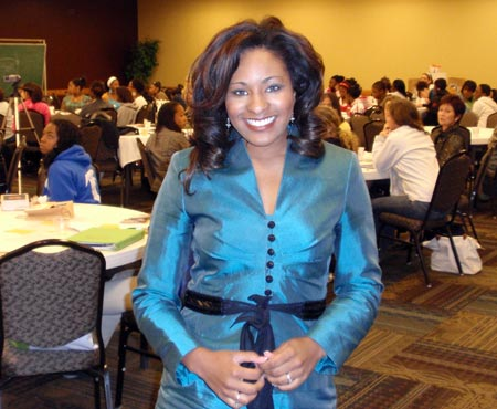 TV Reporter Maurielle Lue of NewsChannel 5