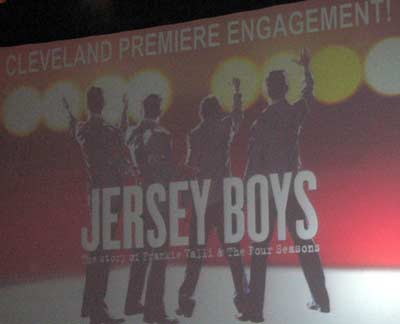 Jersey Boys in Cleveland
