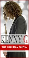 Kenny G Holiday Concert - win free tickets
