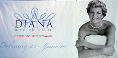 Princess Diana Celebration banner