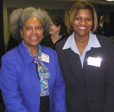 Beverly Peterson and Tomeka Robinson