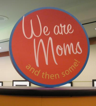 We are Moms sign