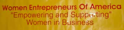Women Entrepreneurs of America banner