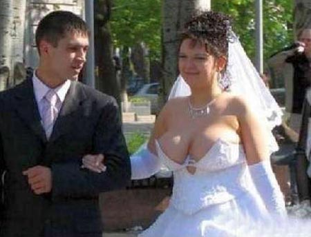 Bad wedding dress